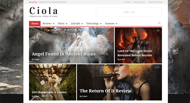 Ciola Paid WordPress Theme