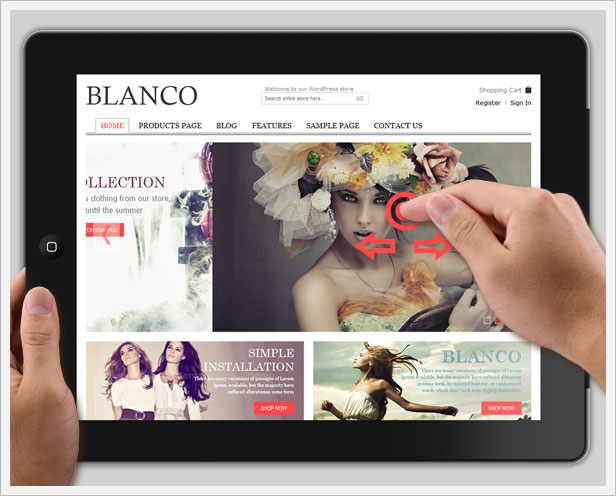 Blanco Premium Paid Woocommerce Theme