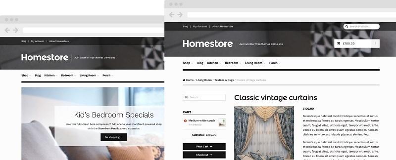Homestore premium paid woocommerce theme
