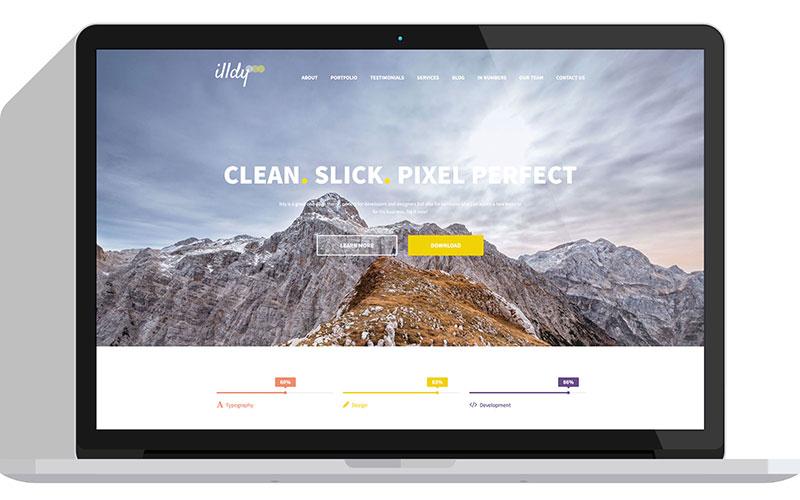 Illdy Free One Page WordPress Theme