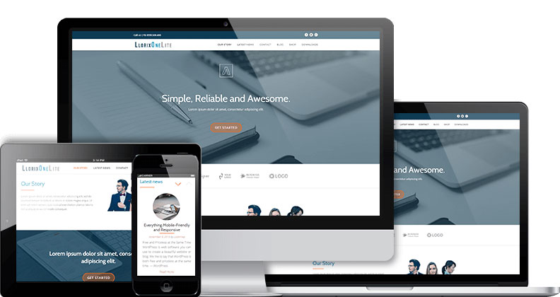Llorix One Free WordPress Theme