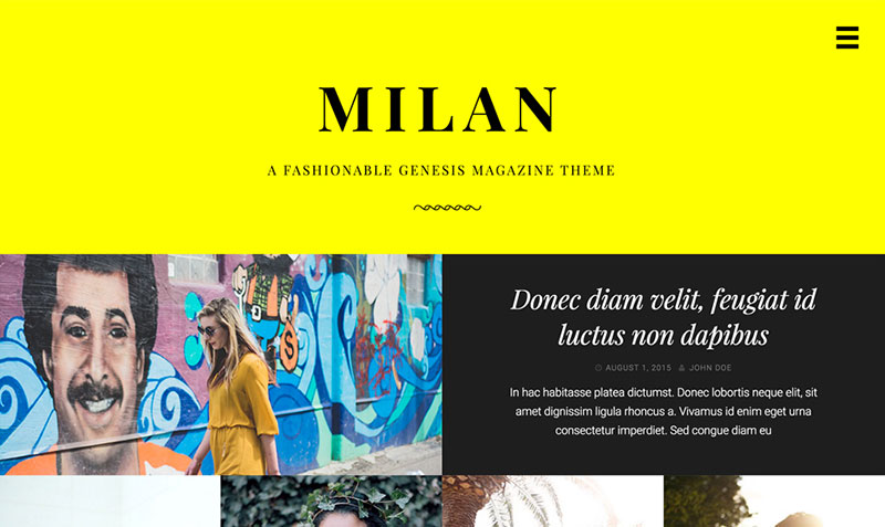 Milan Paid WordPress Magazine Theme