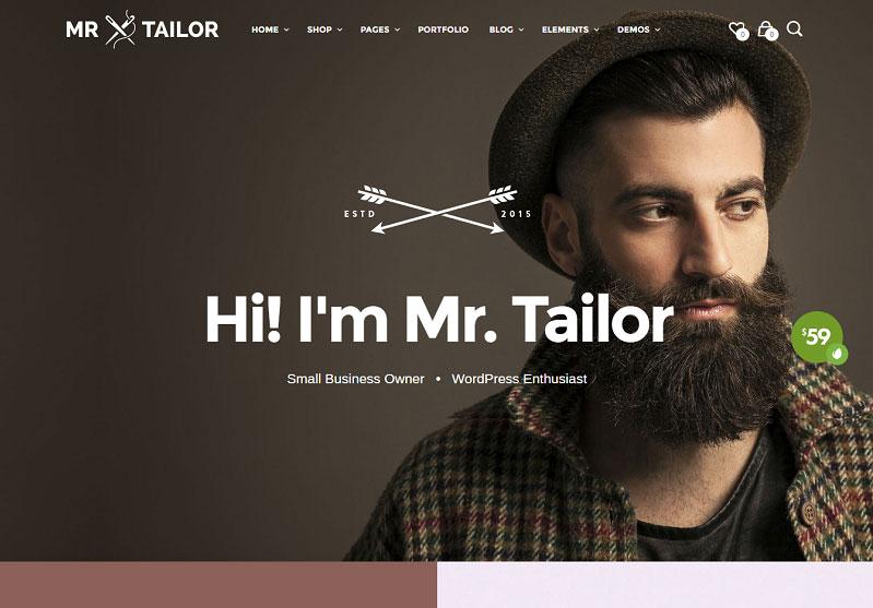 Mr Tailor Premium Woocommerce Theme