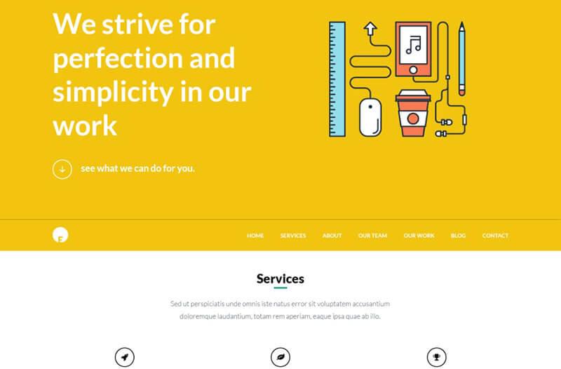 oneengine-free-one-page-wordpress-theme