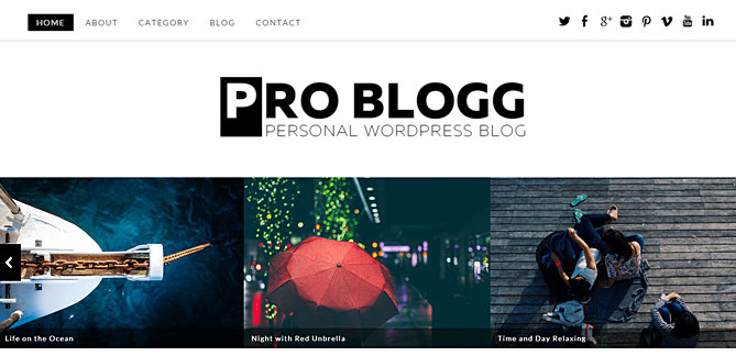 Problogg Paid WordPress Theme